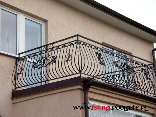 Balustrada balkonowa B-8