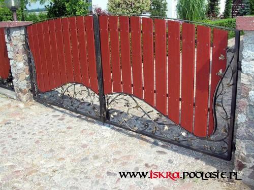 Ogrodzenia - Brama OG-33