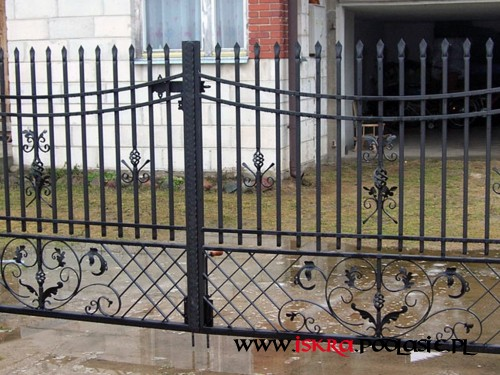 Ogrodzenia - Brama OG-40