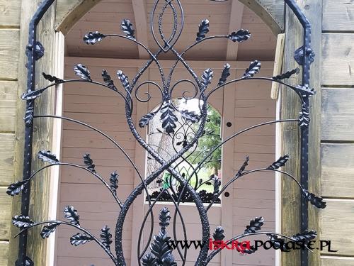 Kraty okienne do kapliczki