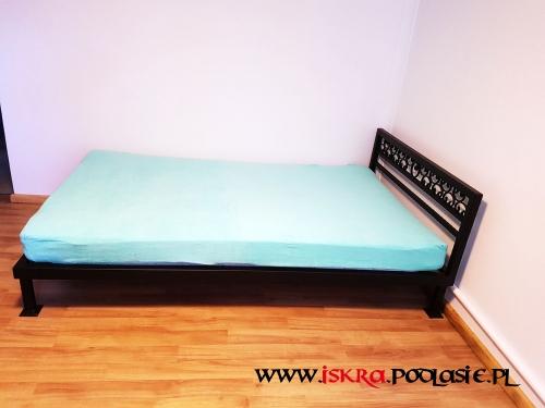 Metalowe łóżko R-111