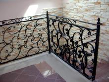 Balustrada ozdobna kuta