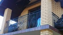Balustrada kuta balkonowa