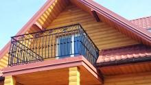 Ozdobna balustrada balkonowa