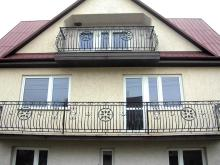 Balustrada balkonowa, kuta B-10