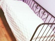 Metalowe łóżeczko
