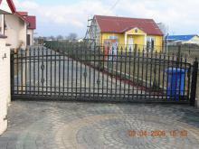 Ogrodzenia - Brama przesuwna OG-19