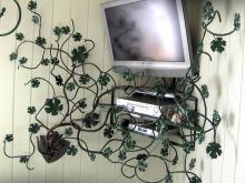 Ozdoba z motywem liści