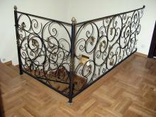 Ozdobna kuta balustrada