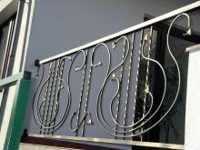 Balustrada ze wzorem harf B-23