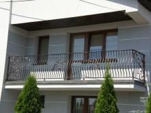 Balustrada kuta balkonowa i schodowa