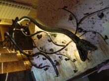 Balustrada w kształci węża