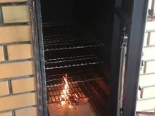 Kute drzwiczki do grilla