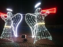 Anioły - ozdoba świąteczna