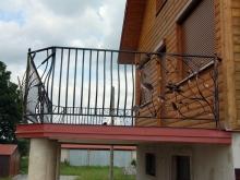 Balustrada ozdobna - kowalstwo artystyczne