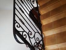 Metalowa balustrada wewnętrzna B-95